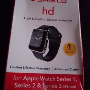 """ZAGG"" HD SCREEN PROTECT APPLE WATCH SERIES 1,2,3"